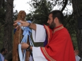 Pilgrimage of Virgin of the snows in Corsica