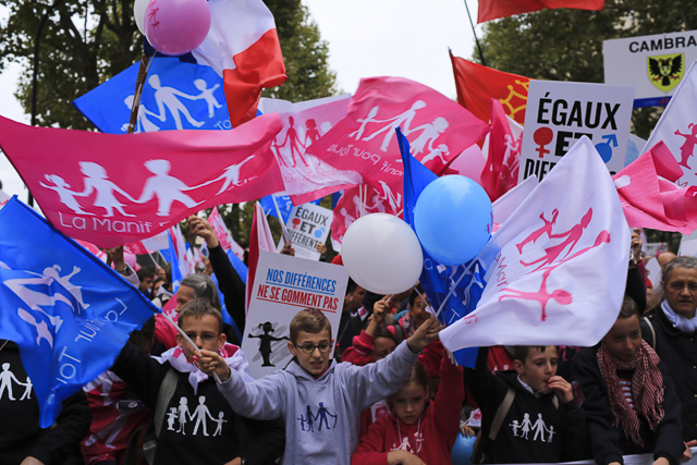 October 5 , 2014 - Paris , France : The french movement